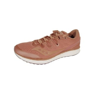 Saucony Mens Freedom ISO Running Sneaker Shoes, Salmon