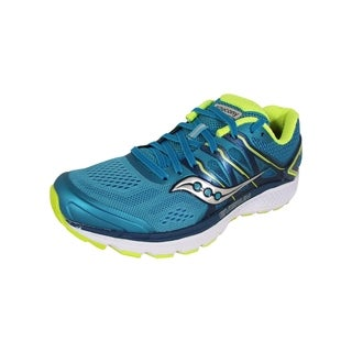 Saucony Womens Omni 16 Running Sneaker Shoes, Teal/Citron