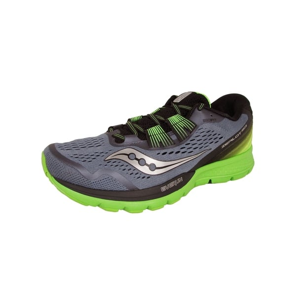 33a1184910 Shop Saucony Men Zealot ISO 3 Neutral Running Shoes, Grey/Black ...