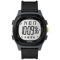 Timex Men's TW5M18900 Ironman Transit Full-Size Black Resin Strap Watch - N/A