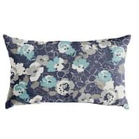 Scott Living Property Brothers Botanic Cyan XL Lumbar Pillow