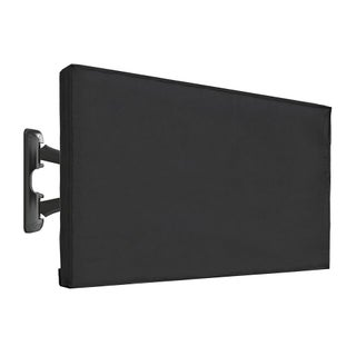 Vaiyer Outdoor TV Cover LED Flatscreen TV With Bottom Cover Weatherproof and Dust-Proof Material