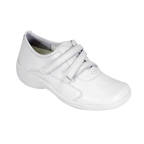 24 HOUR COMFORT Jordan Women Wide Width Trendy Slip On Shoes