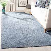 Safavieh Handmade Abstract Modern & Contemporary Blue Wool Rug - 8' x 10'