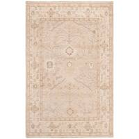 Safavieh Hand-Knotted Izmir Traditional Gold / Ivory Wool Rug - 8' x 10'
