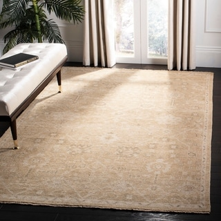 Safavieh Hand-knotted Izmir Belen Traditional Oriental Wool Rug with Fringe