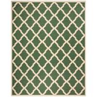 Safavieh Linden  Modern & Contemporary Green / Creme Rug - 8' x 10'