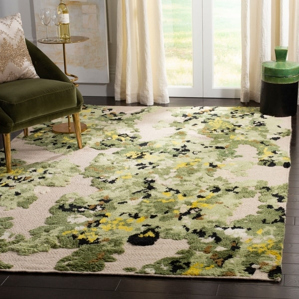 Shop Safavieh Hand Knotted Kenya Transitional Green