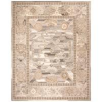 Safavieh Handmade Wyndham Modern & Contemporary Light Grey Wool Rug - 8' x 10'