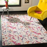Safavieh Evoke Abstract Expression Ivory / Pink Rug - 4' X 6'