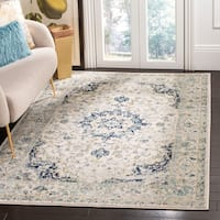 Safavieh Madison Vintage Ivory / Blue Rug - 4' x 6'