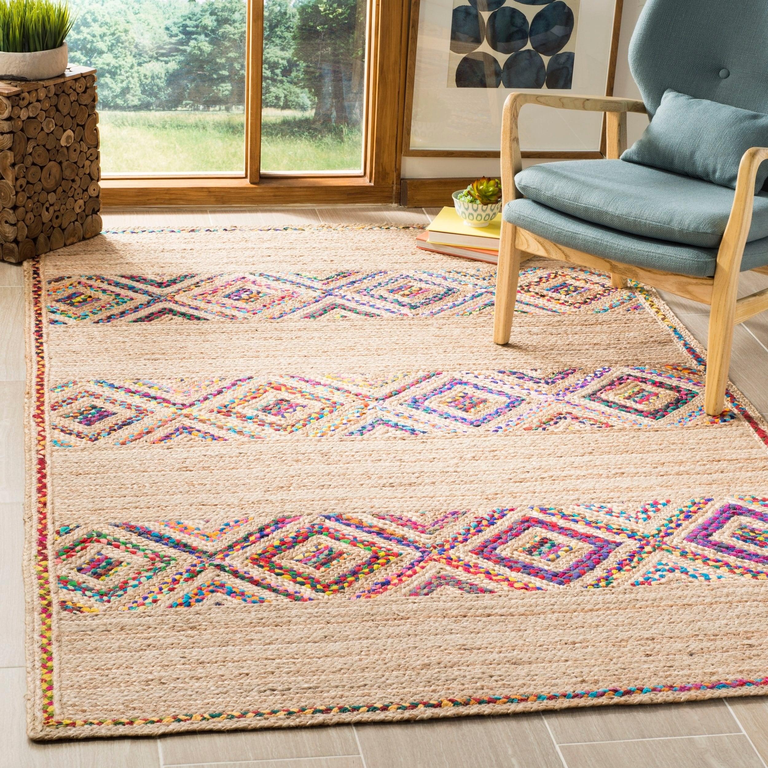 Modern Nature Rug: Safavieh Hand-Woven Natural Fiber Modern & Contemporary