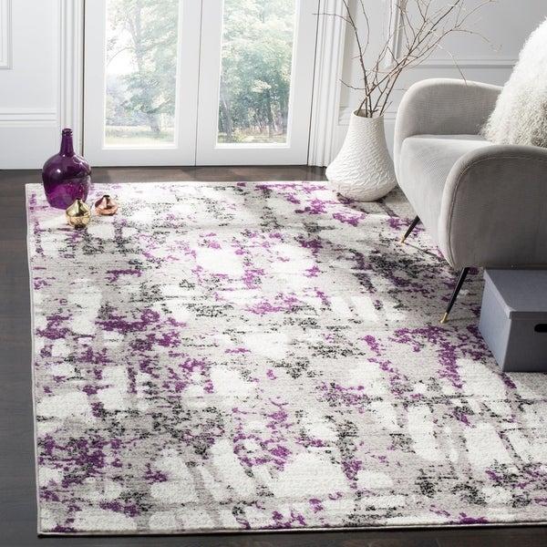 Safavieh Skyler Modern Contemporary Grey Purple Rug