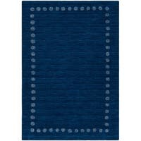 Safavieh Kids Hand-Woven Modern & Contemporary Navy Wool Rug - 3' x 5'