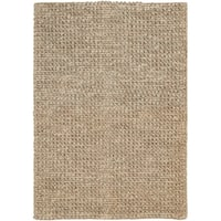 "Safavieh Hand-Woven Martha Stewart Winding Braid Modern & Contemporary Butternut Beige Jute Rug - 2'6"" x 3'10"" rectangle"