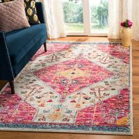 Safavieh Madison Vintage Cream / Pink Rug - 4' x 6'