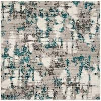 "Safavieh Skyler Modern & Contemporary Grey / Blue Rug - 6'7"" x 6'7"" square"