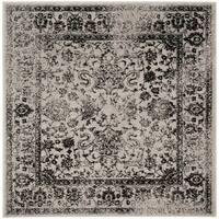 Safavieh Adirondack Vintage Grey / Black Rug - 6' x 6' Square