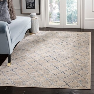 Safavieh Brentwood Traditional Light Grey / Blue Rug - 6' X 9'