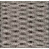 "Safavieh Courtyard Modern & Contemporary Black / Light Grey Indoor Outdoor Rug - 6'7"" x 6'7"" Square"