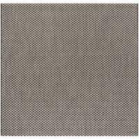 "Safavieh Courtyard Modern & Contemporary Black / Light Grey Indoor Outdoor Rug - 6'7"" x 6'7"" square"