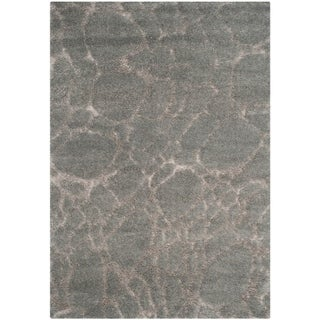 Safavieh Shag Derwen Abstract Silky Polyester Rug