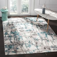 "Safavieh Skyler Modern & Contemporary Grey / Blue Rug - 5'1"" x 7'6"""