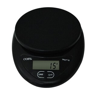 Coby Digital Compact Kitchen Scale