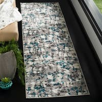 Safavieh Skyler Modern & Contemporary Grey / Blue Rug - 2' x 6'