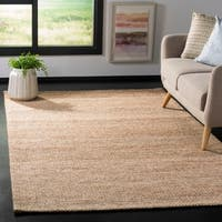 Safavieh Hand-Woven Marbella Modern & Contemporary Natural / Ivory Jute Rug - 3' x 5'