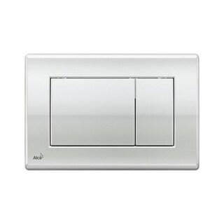 Alca Plast Dual Flush Plate for Concealed Water Tanks (M271 - Plastic Chrome)