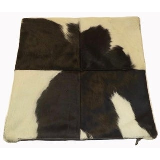 Black and White Holstein Cowhide Pillow