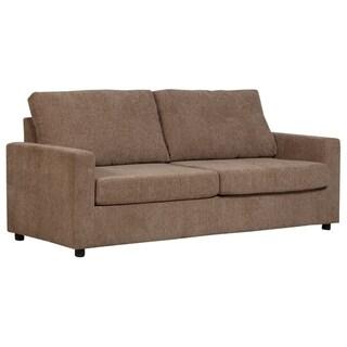 Porter Designs Cindy Memory Foam Sofa Bed, Queen Size, Brown
