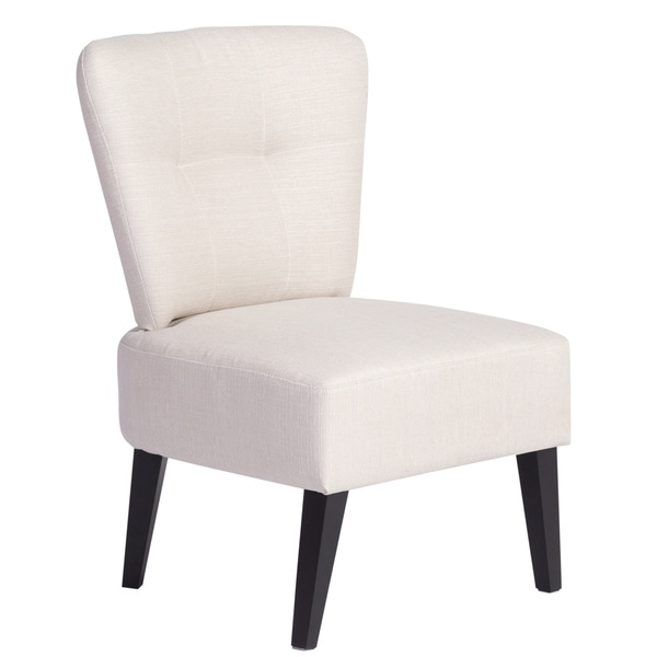 Shop Sitswell Maddie Barrel Back Accent Chair White 23