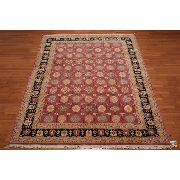 100 Wool Persian Area Rug: Shop Hand-Knotted Romanian Oushak 100% Wool Persian Area