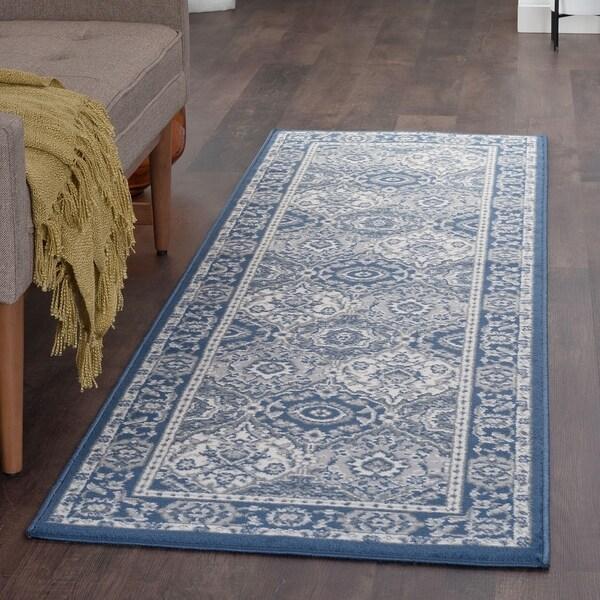 Alise Rugs Carrington Traditional Oriental Runner Rug - 2'3 x 10'