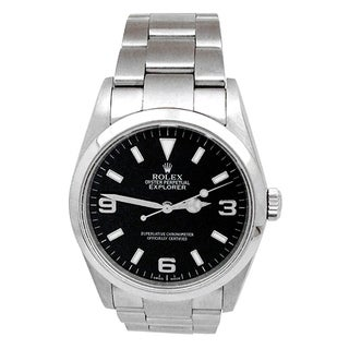 Pre-owned 36 Rolex Stainless Steel Oyster Perpertual Explorer Watch - N/A - N/A
