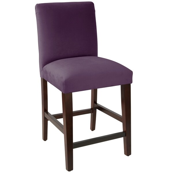 Shop Skyline Furniture Counter Stool With Diamond Tufted