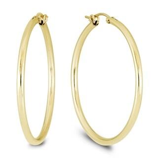 Link to 14K Yellow Gold Filled Hoop Earrings (41mm) Similar Items in Earrings
