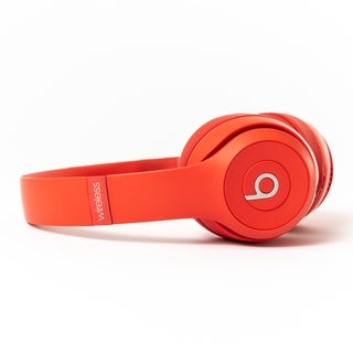 Beats by Dre Solo 3 Wireless - Certified Preloved RED