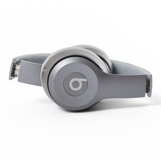 Beats by Dre Solo 2 - Refurbished by Overstock drenched silver