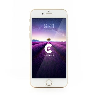 Apple iPhone 7 AT&T - Refurbished by Overstock 32 GB - white and gold - AT&T