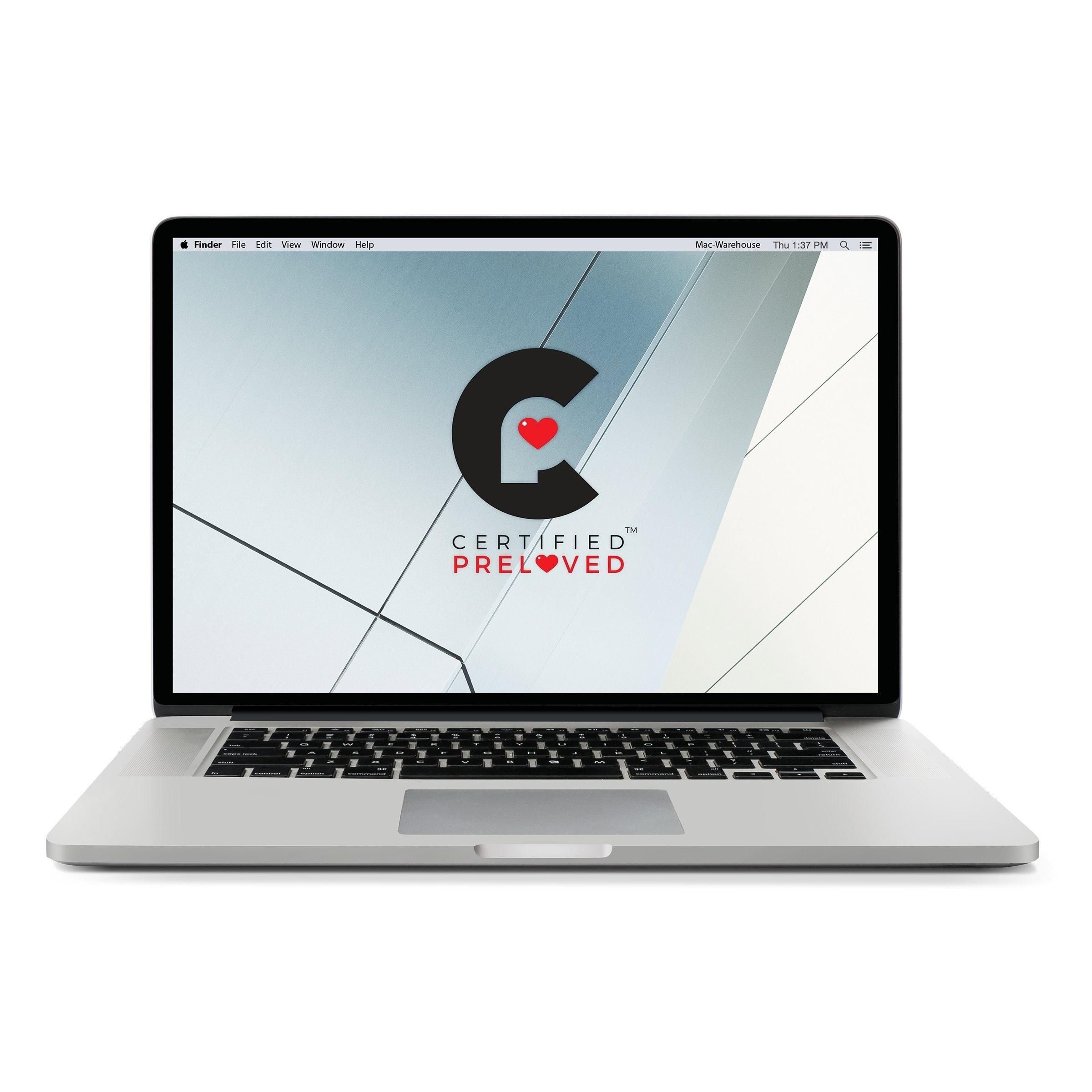 Apple ME874LL/A 15.4 inch Macbook Pro Retina QCi7 2.6 GHz - Refurbished by Overstock 256GB Flash - 16 GB
