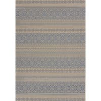 Flat-weave Terrace Catrina Indoor/Outdoor Area Rug (7'10 x 10'6) - 7'10 X 10'6