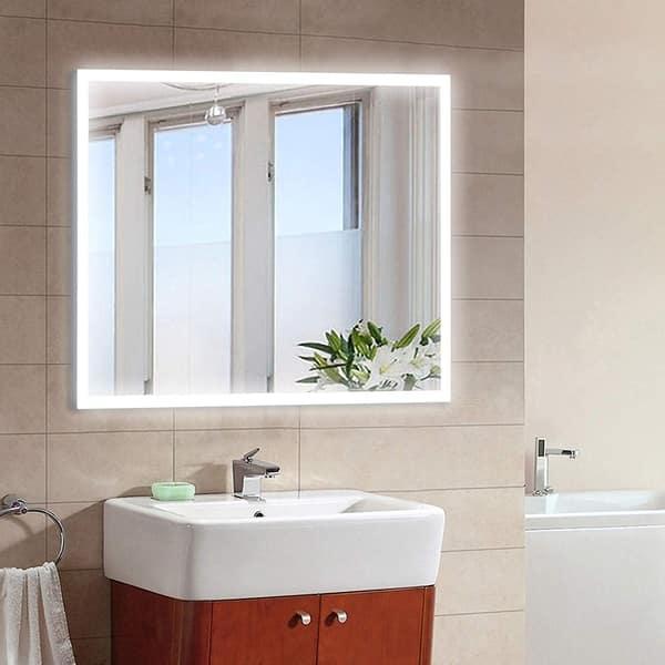 Shop Vanity Art 36-Inch LED Lighted Illuminated Bathroom ...