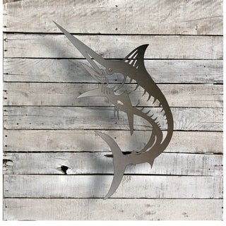Marlin - Natural Steel Wall Décor
