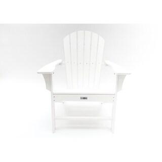 LuXeo Hampton Poly Outdoor Patio Adirondack Chair
