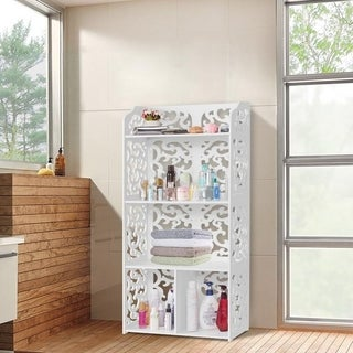 Home Office Furniture Bookshelve Organizer Storage Cabinet Bookcase
