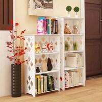 5 Tiers Home Office Bookshelf Storage Cabinet