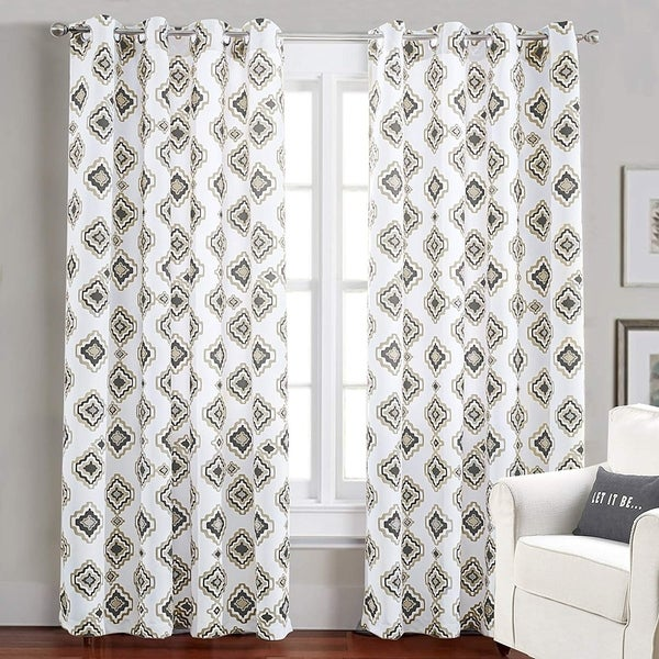 Shop DriftAway Diamond Thermal Room Darkening Curtain